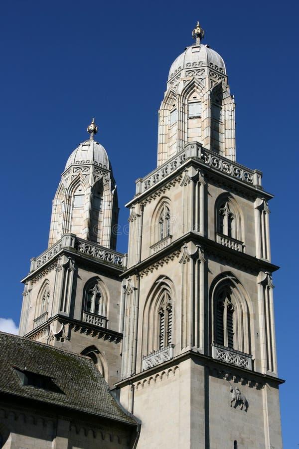 Igreja de Zurique fotos de stock royalty free