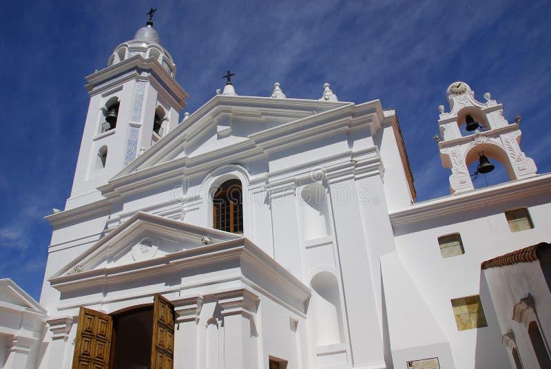 Igreja dedicada a Nuestra Segnora del Pilar fotos de stock royalty free