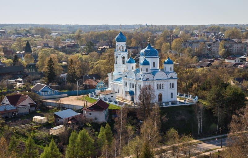 Igreja do arcanjo Michael, Torzhok, Rússia imagens de stock royalty free