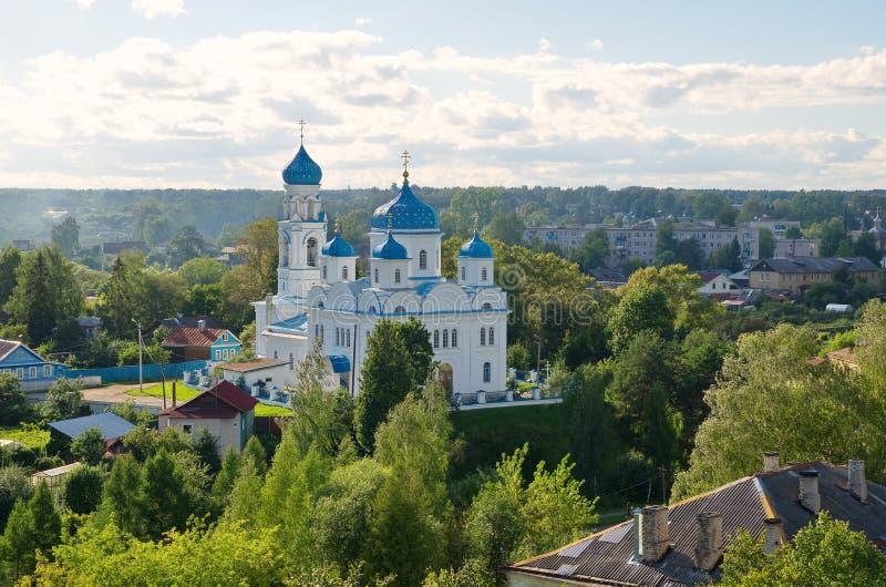 Igreja do aviso em Torzhok, Rússia fotografia de stock royalty free
