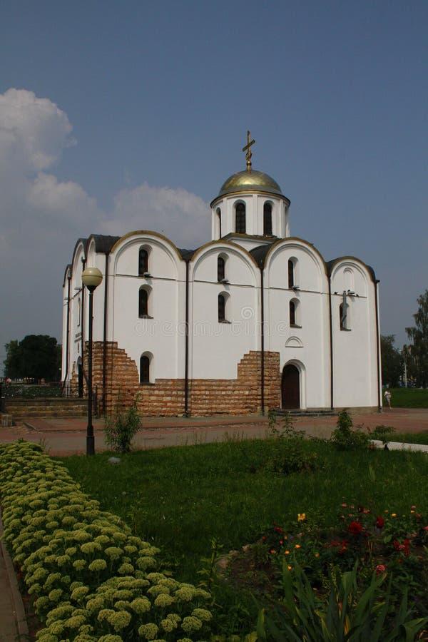 Igreja do aviso em Vitebsk belarus imagem de stock