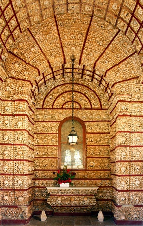 Igreja Do Carmo Famous Bone Chapel Royalty Free Stock Image