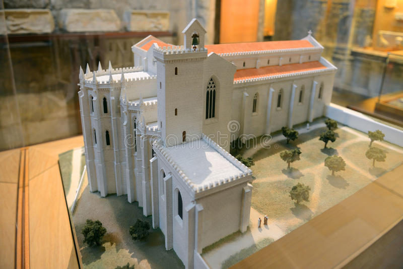 Igreja do Carmo, Lisbon, Portugal stock photo