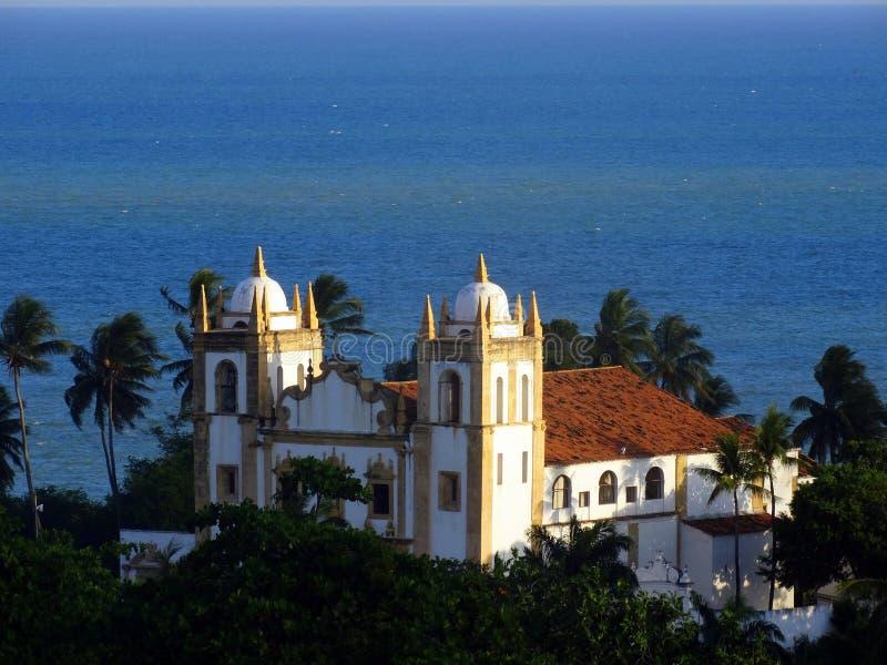 Igreja do Carmo, Olinda στοκ εικόνα