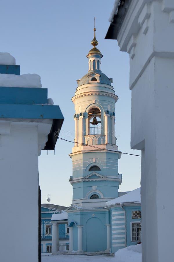 A igreja do esmagamento em Kolomna, fundado no século XVI fotos de stock royalty free