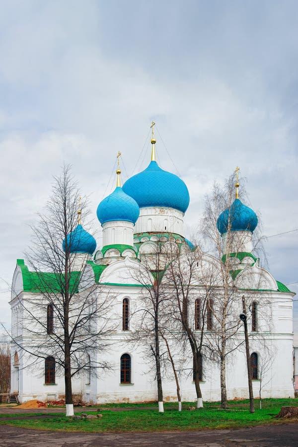 Igreja do esmagamento em Uglich na região Rússia de Yaroslavl imagem de stock