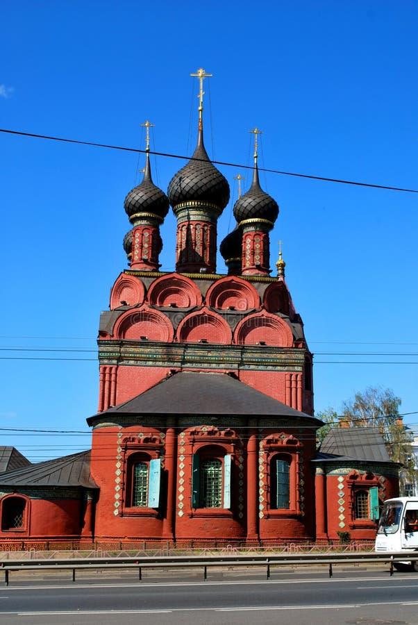 A igreja do esmagamento em Yaroslavl foto de stock royalty free