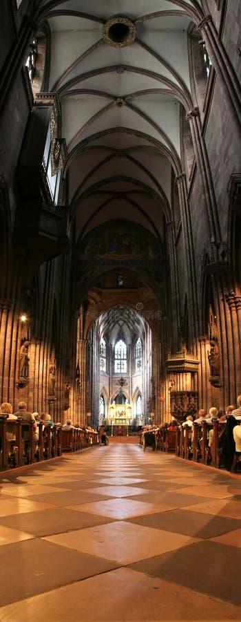 Igreja do interior do ½ do ¿ do ï de Freiburg foto de stock royalty free