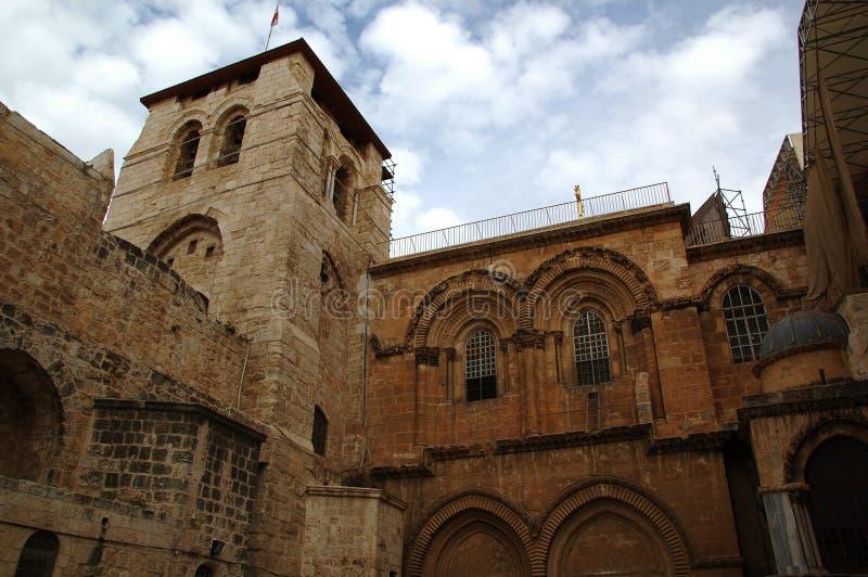 A igreja do Jerusalém do sepulcro santamente israel foto de stock royalty free