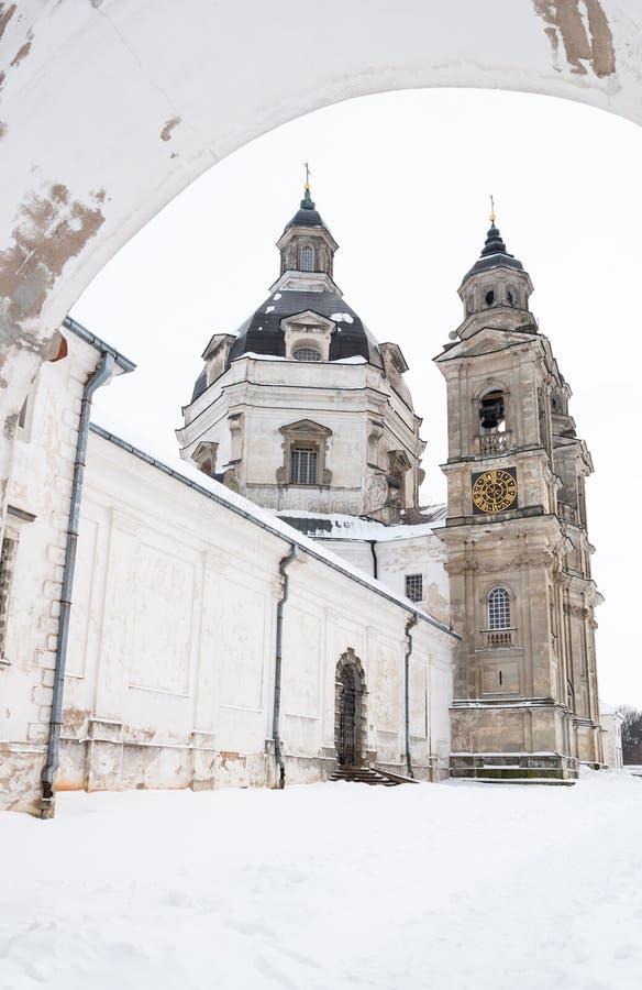 Igreja do monastério de Pazaislis imagens de stock royalty free