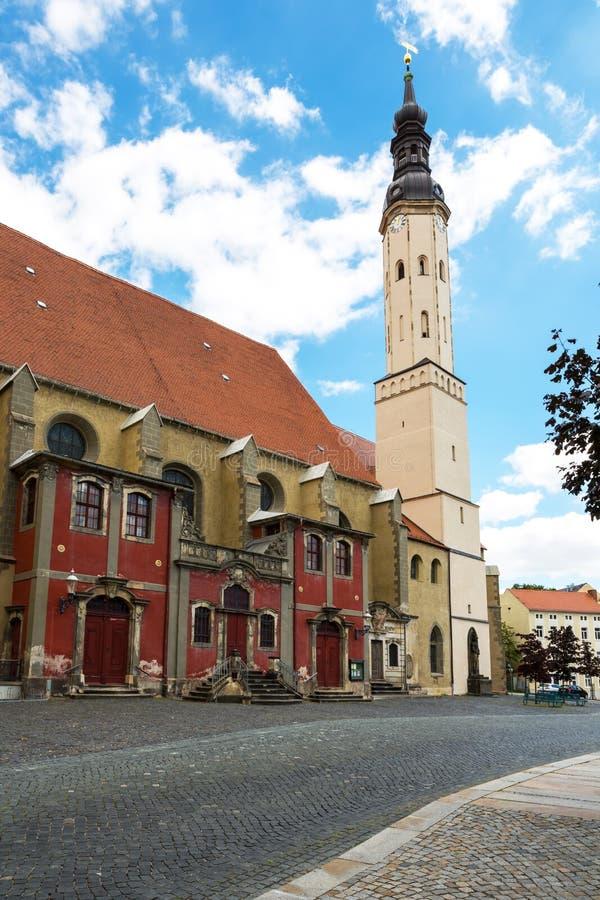 Igreja do monastério de Zittau, Saxony, Alemanha imagem de stock