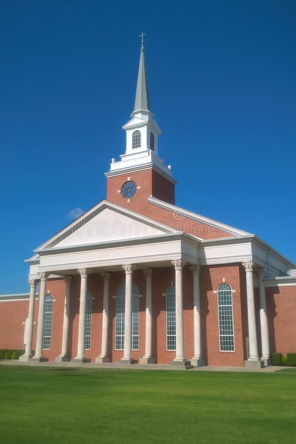 Igreja do Nazarene imagens de stock royalty free