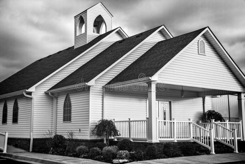Igreja 1 do país fotografia de stock royalty free