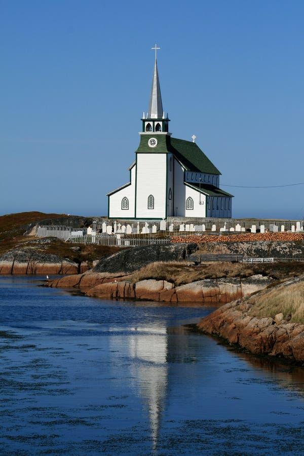 Igreja do país imagem de stock