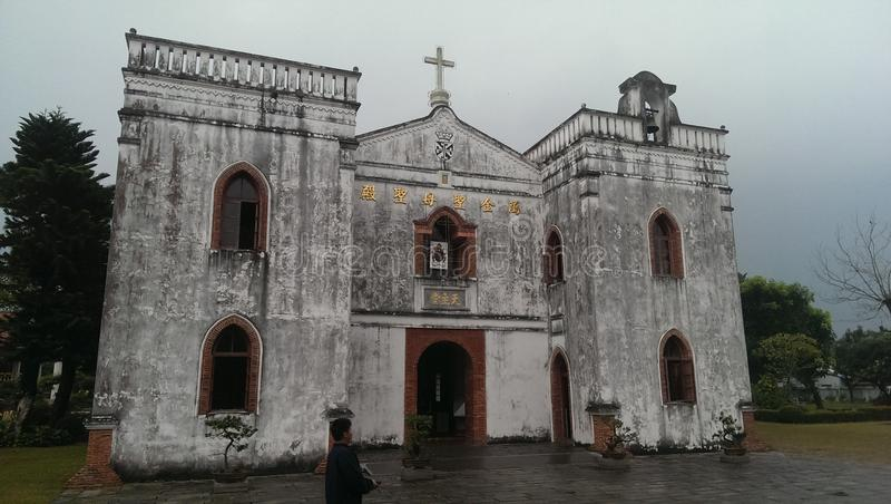 Igreja do rankin de Taiwan pingtung imagem de stock royalty free