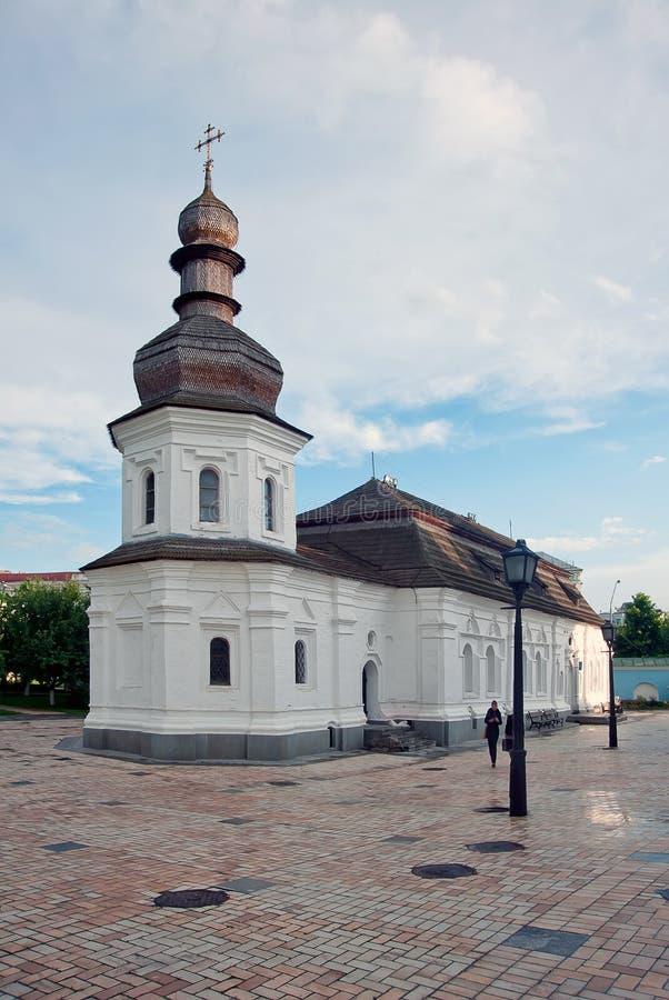 Igreja do refeitório de Saint Michael Gilded Orthodox  imagem de stock