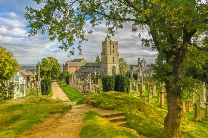 Igreja do rood santamente Stirling foto de stock