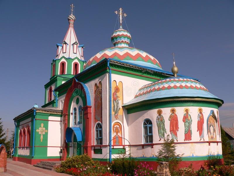 Igreja do russo foto de stock