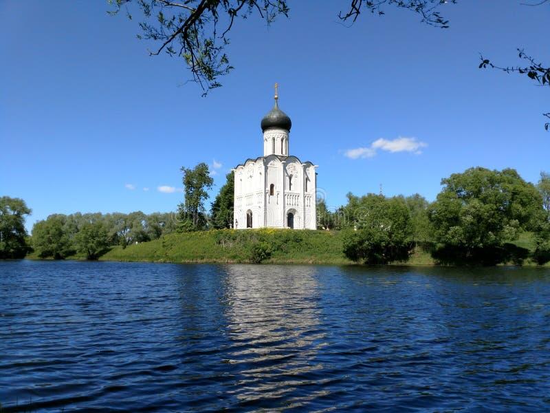 Igreja do russo foto de stock royalty free