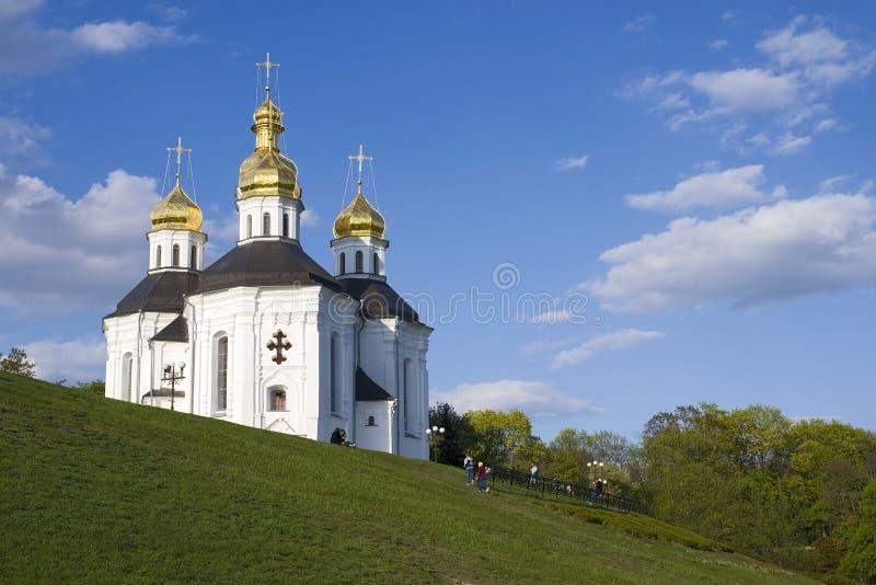 Igreja do ` s de Catherine na primavera foto de stock