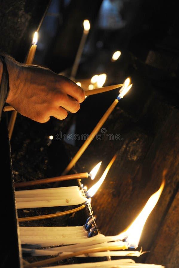 Igreja do sepulcher santamente imagem de stock royalty free