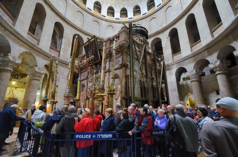 Igreja do Sepulchre santamente imagens de stock