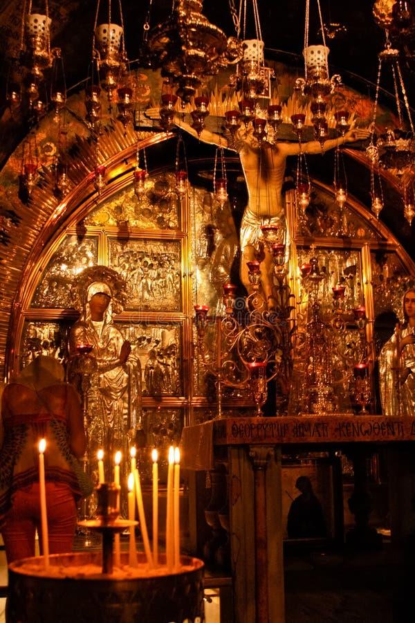 Igreja do Sepulchre santamente fotos de stock royalty free