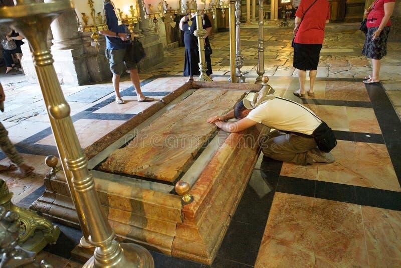 Igreja do sepulcro santamente fotos de stock royalty free