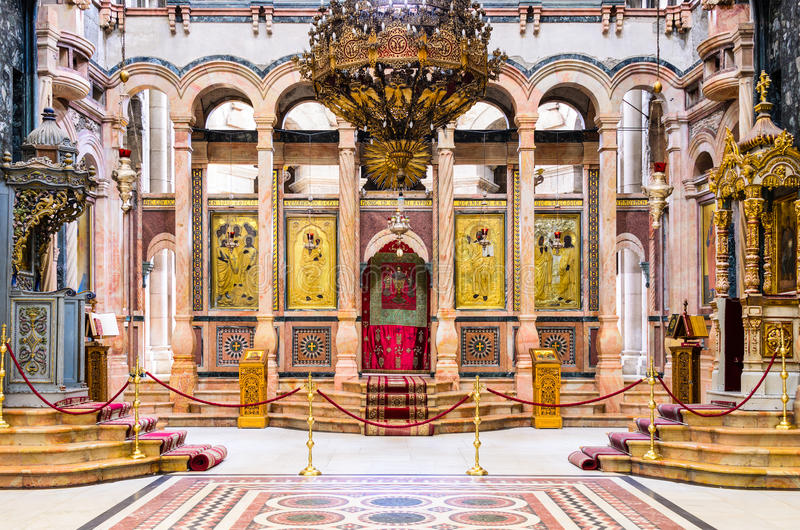 Igreja do sepulcro santamente imagens de stock royalty free