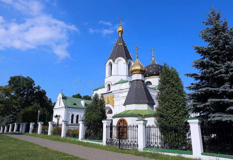Igreja do sepulcro santamente Mary Magdalene em Minsk fotografia de stock royalty free