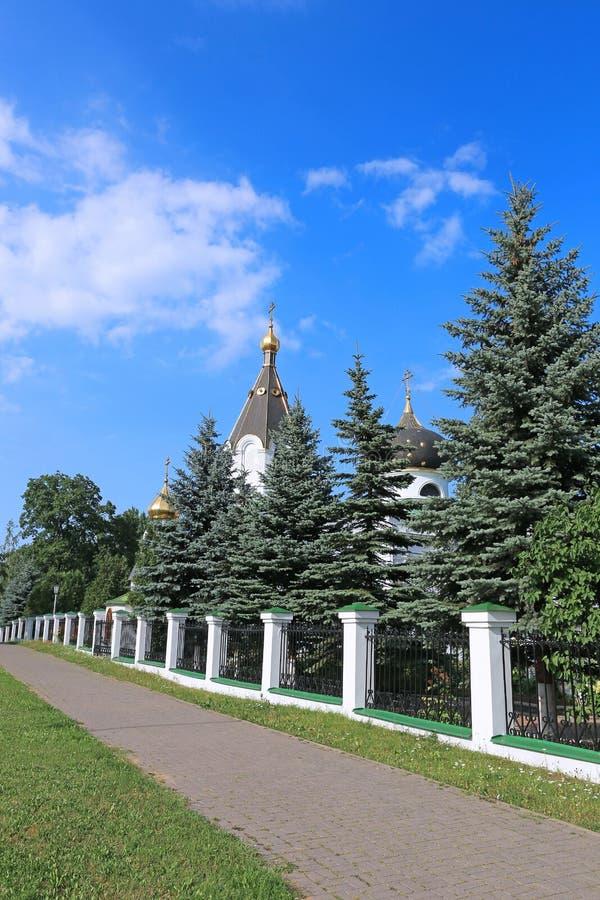 Igreja do sepulcro santamente Mary Magdalene em Minsk imagem de stock
