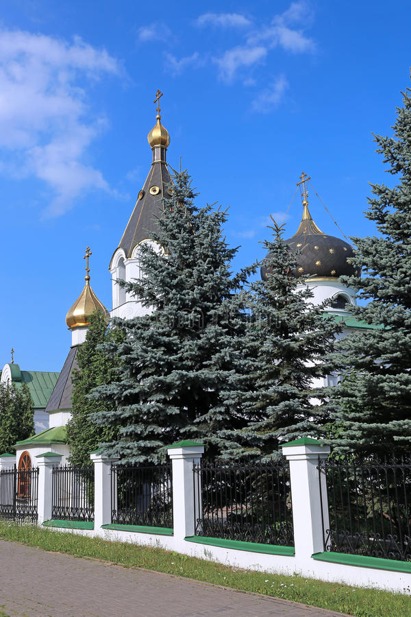 Igreja do sepulcro santamente Mary Magdalene em Minsk fotos de stock