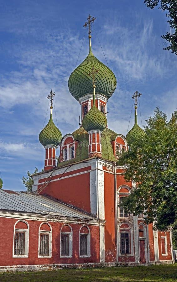 Igreja do St Alexander Nevsky fotografia de stock