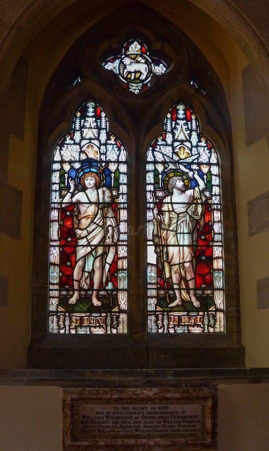 Igreja do St John The Baptist Giovinazzo foto de stock