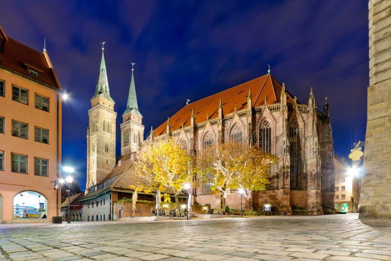 Igreja do St. Lorenz imagens de stock royalty free