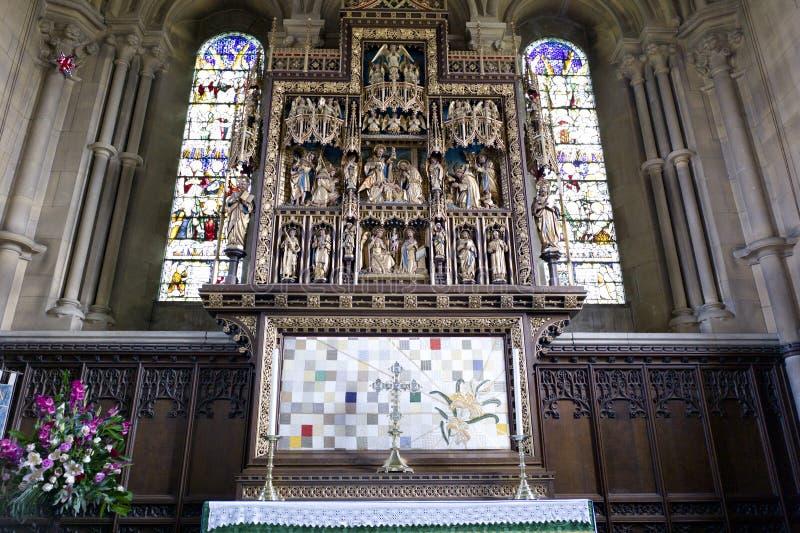 Igreja do St Mary, Woburn, Reino Unido fotografia de stock