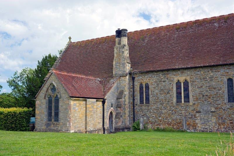 Igreja do St Marys, Slaugham, Sussex meados de fotos de stock