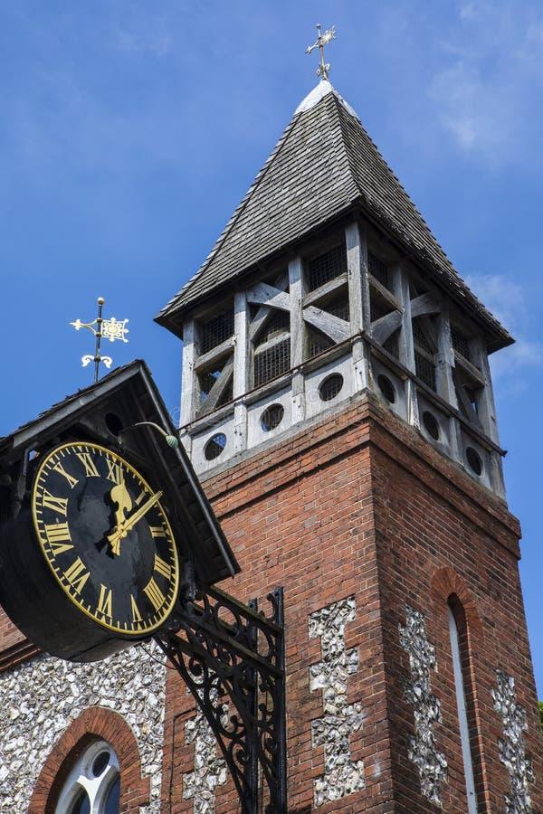 Igreja do St Michael-em-Lewes imagem de stock royalty free