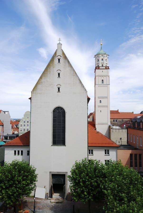 Igreja do St. Moritz foto de stock royalty free