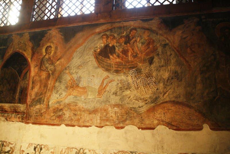 Igreja do St. Stephen em Nessebar. Bulgária fotos de stock