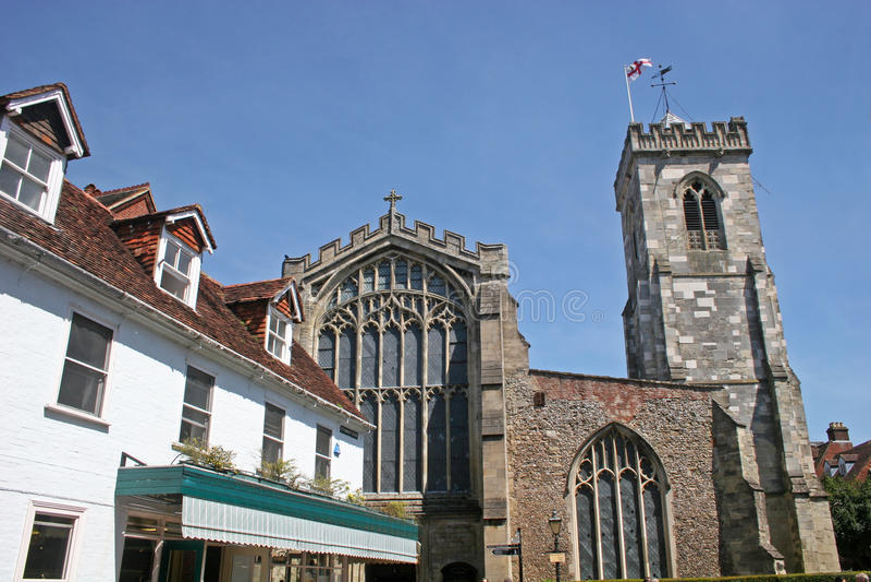 Igreja do St Thomas, Salisbúria foto de stock