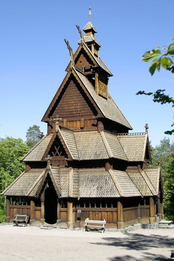 Igreja do Stave fotografia de stock royalty free