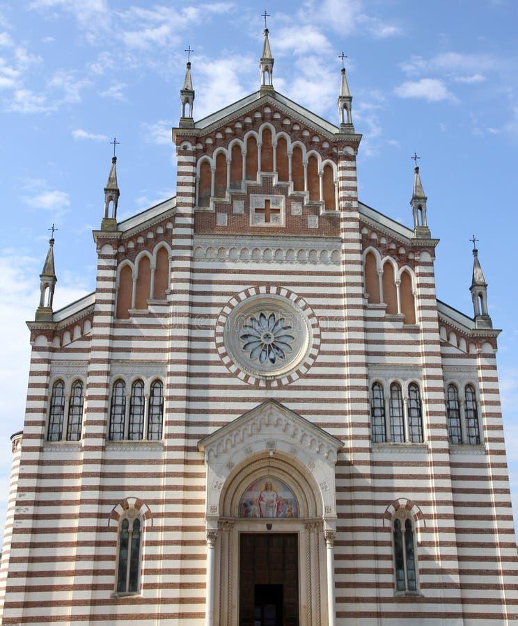 Igreja do sul Brenta do piazzola em Itália imagem de stock