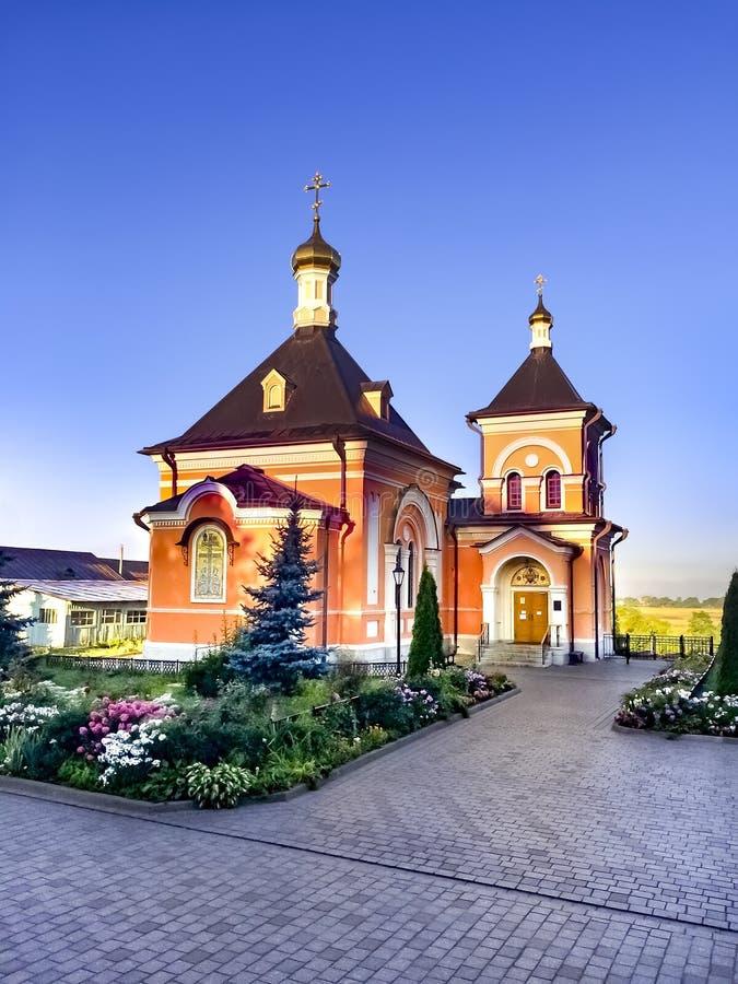 Igreja do Transfiguration imagens de stock