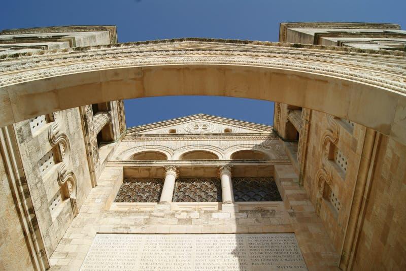 Igreja do Transfiguration, Israel fotografia de stock royalty free