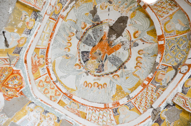 Igreja do vale de Ihlara foto de stock