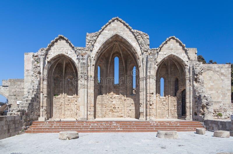 Igreja do Virgin do Burgh imagem de stock