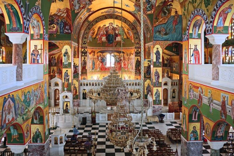 Igreja dos ágios Gerassimos imagem de stock royalty free