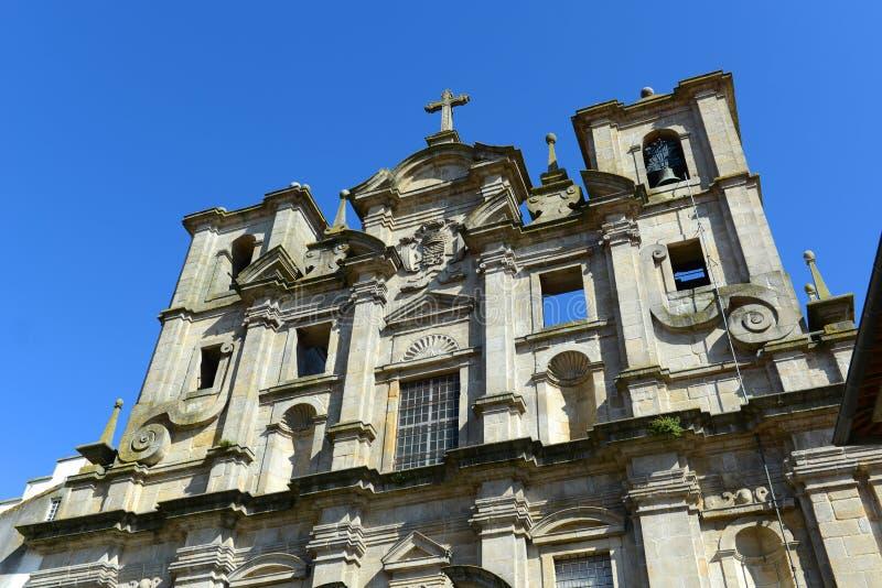 Igreja DOS Grilos, Porto, Portugal royaltyfria bilder