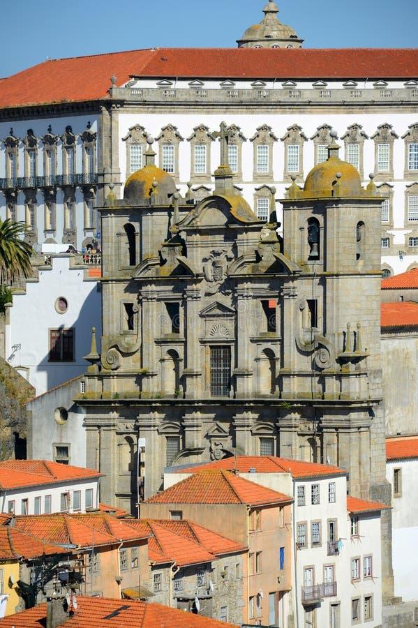 Igreja DOS Grilos, Porto, Portugal arkivfoton